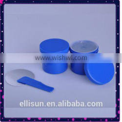 cylindrical shape empty LDPE plastic can for epoxy putty supplier