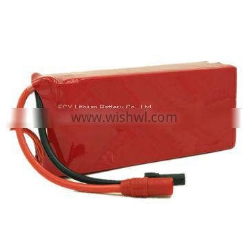 Li polymer rechargeable battery 14.8v 16000mah 1174170 for Rc drone model