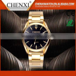 World Best Selling Products Brand Quality Quart Golden Watch Men