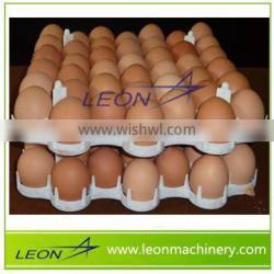 Leon series plastic egg turning tray with 36 counts
