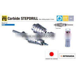 Sharpness and Functional core drill with various sizes made in Japan