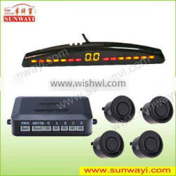 Electromagnetic parking sensor, easy installation, no dirll parking sensor