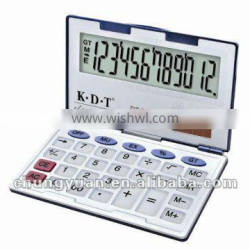 12 digits electronic folded calculator DT-288H
