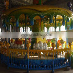 Fashionable! Theme parks rides- sweety candy carousel rides