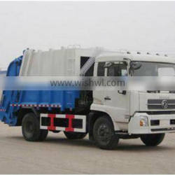DongFeng 15 cubic garbage truck and water trailer