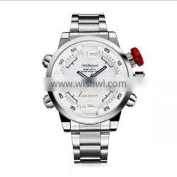2015 High Quality 100% CE Test Genuine leather Alloy Case charming wristwatch for men