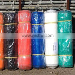 scaffolding mesh screen in roll or in pieces with blue, green, white color