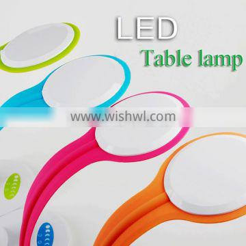 Dimmable and adjustable LED desk lamp