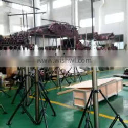 Outdoor Moving lifting mast for lighting