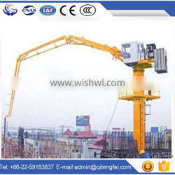 Concrete pump Distributor Concrete Placing Boom
