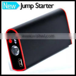 Portable 9000mAh Car Battery Charger Jump Starter Built In Micro USB Cable