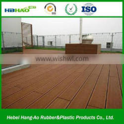 Plastic Flooring Type and Outdoor Usage swimming pool wpc decking