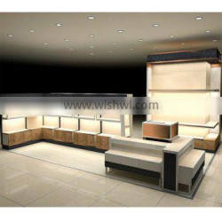 Indoor Mall Showcase of Clothes Cabinet Design