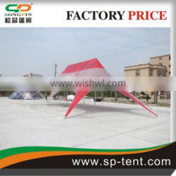 steel frame waterproof warehouse storage tent used in show event