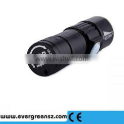 Wholesale Aluminum Zoomable USB Rechargeable Best Led flashlight torch light