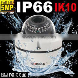 LS VISION compatible and cost-effective easy handling varifocal 2.8-12mm 3.0mp p2p network camera