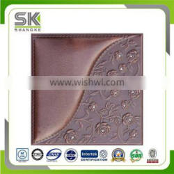 Exquisite Embossing 3D Leather Interior Wall Paneling