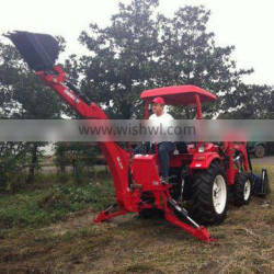 Hydraulic backhoe for tractor with CE certification