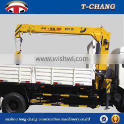 China best price SQ3.2SA2 small fixed boom boat lifting cranes for truck sale