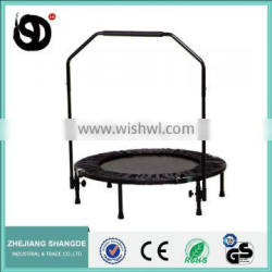 outdoor gymnastic folding trampoline with handle