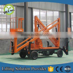 High quality trailer mounted boom lift for Aerial Maintenance Work made in China