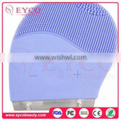 New rechargeable Mini Sonic Electric Facial Brush beauty tools With Waterproof For Exfoliating And Massage
