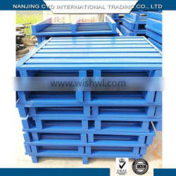 China Manufacturer Industrial High Quality Parts Steel Pallet