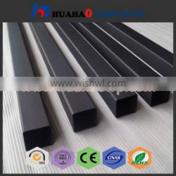 round tube carbon fiber High Strength 3k plain/twillglossy surface/matte round tube carbon fiber with low price fast delivery