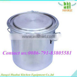 2015 Newest model straight mouth stainless steel wine barrel stainless steel bucket 20l