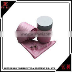 New design delicacy good quality cheap tie cufflinks gift set