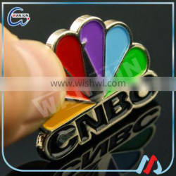 customize durable branded metal paint badges for promo