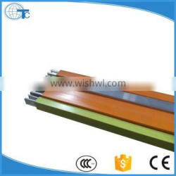 own factory single pole aluminum insulated conductor rail