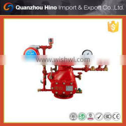 Check Alarm valve with flange inlet for fire fighting