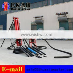 KQZ-100 equipment of percussion rotary drill pneumatic DTH drilling rig