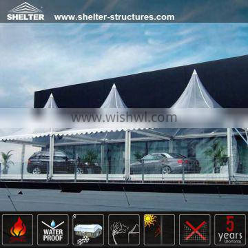 10x10m transparent canopy tents for garage shelters