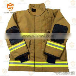 Heat resistant firefighting clothing with 4 layer structure Aramid material EN 469 standard-Ayonsafety