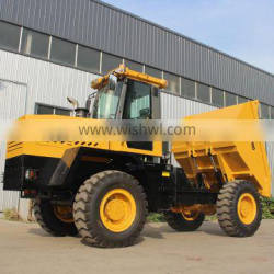 high quality cheaper diesel FCY100 Loading capacity 10 tons rotary car dumper with 180 degree turning bucket