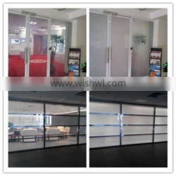 2015 Smart Switchable Glass with PDLC film/ office partition glass/magic