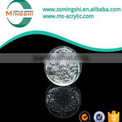 China supplier colored plastic large acryli glass half sphere