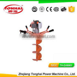 TH-EA6901 52CC gas powered post hole digger for tree transplanting post hole diggers