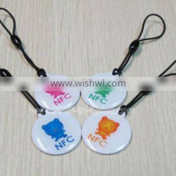 PET/Paper Passive RFID Tag, NFC RFID Sticker for Wholesale