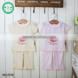 On sale new popular design high quality children clothing set baby clothes with low price