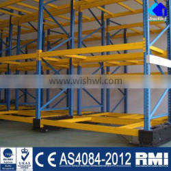 OEM High Density Heavy Load Electric Mobile Racking
