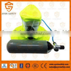 Emergency Escape Breathing Device(EEBD) with 3L steel cylinder/aluminium composite tank CCS certificate- Ayonsafety