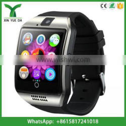 2016 q18 curved screen smart watch with sim card and camera