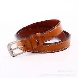 For Jeans Cowhide Genuine Leather Belt Fashion And Elegant