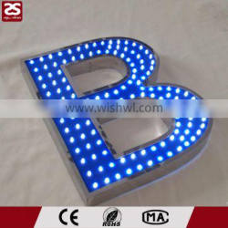 high brightness top quality led letter ligths sign