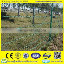 Cheap Galvanized /PVC coated Barbed Wire