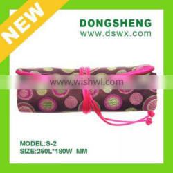 Personalized Jewelry Roll lot Mix Color style Silk printed Colorful Jewelry Packaging Bag customized