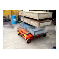 7LSJY Shandong SevenLift 14m telescopic manual hydraulic manlift elevator ladder for painting